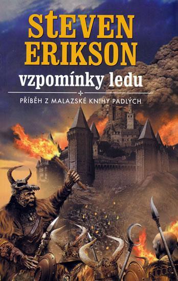 Kniha Vzpomínky ledu (Steven Erikson)