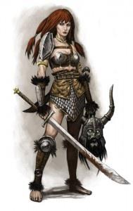 2011-OCT-Women-Female-warrior-Red-Sonja-by-Wiggers123-189x300