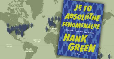 Je toabsolútne fenomenálne : Hank Green