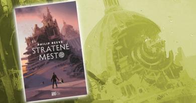Smrteľné stroje 5 : Stratené mesto – Philip Reeve