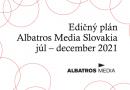 Edičný plán Albatros Media Slovakia – 2.polrok 2021